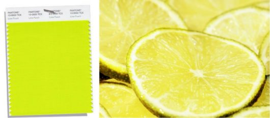 12. Lime Punch Pantone 2018
