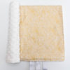 Blush Champagne Metallic minky blanket with pearl tags